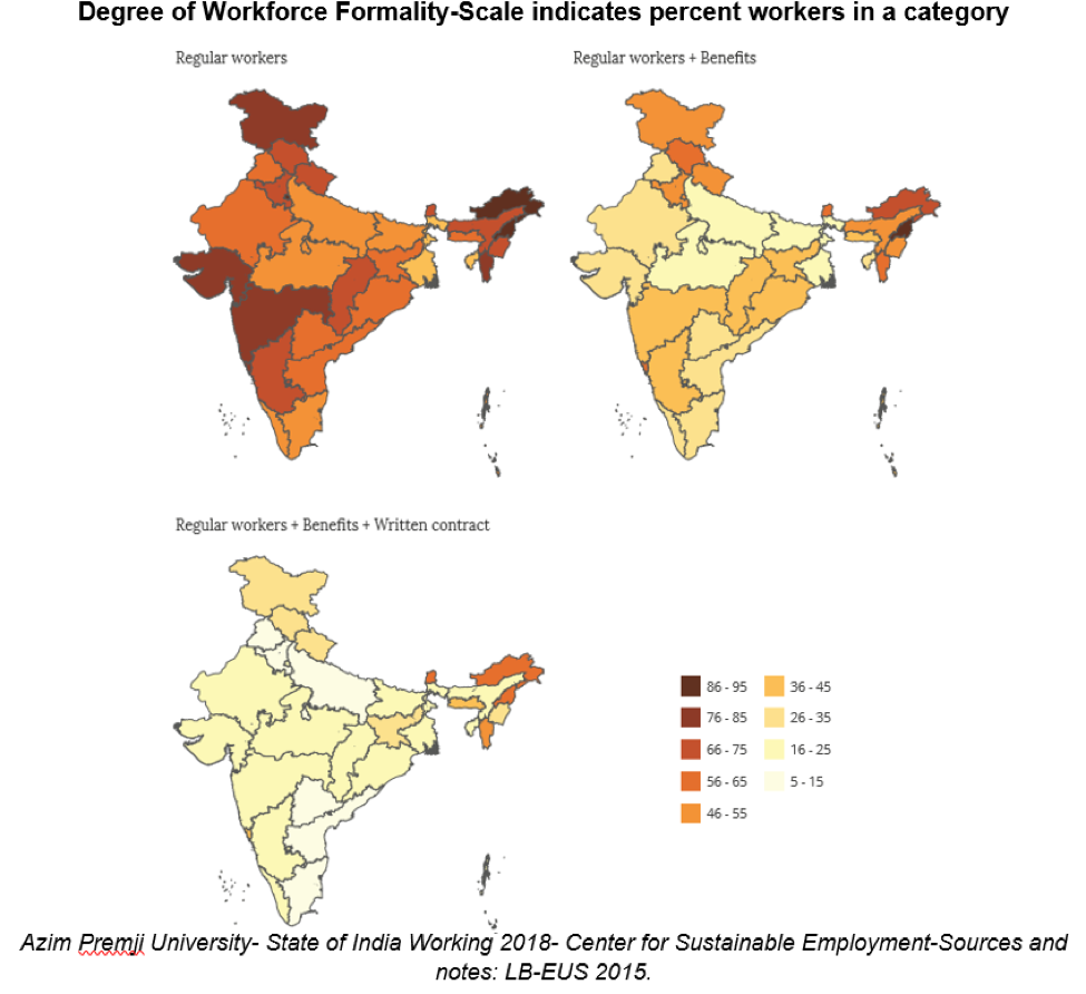 Degree of workforce formality