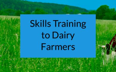 Skills Training to Dairy Farmers